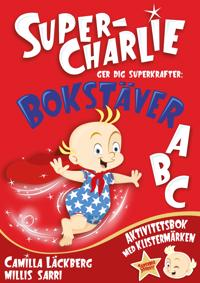 Super-Charlie ger dig superkrafter. Bokstäver