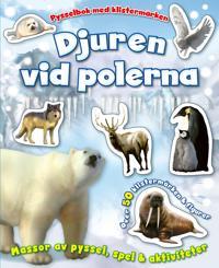 Djuren vid polerna - pysselbok med klistermärken