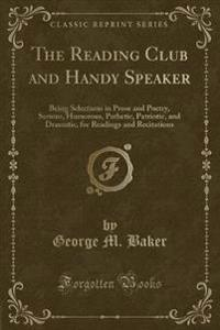 The Reading Club and Handy Speaker