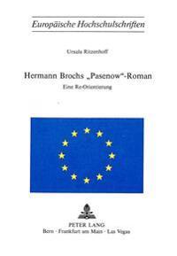 Hermann Brochs -Pasenow--Roman