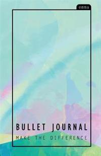 Bullet Journal: Pastel Over the Rainbow Journal (130 Pgs) - Professional Organizer & Productive Notebook System