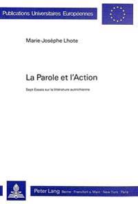 La Parole Et L'Action