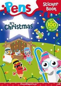 Pens sticker book: its christmas