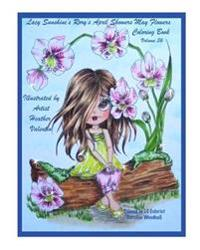 Lacy Sunshine's Rory's April Showers May Flowers Coloring Book Volume 36: Flowers, Sweet Big Eyed Girls, Floral Wreaths Inspirations
