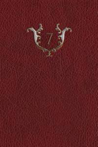 Monogram 7 Blank Book