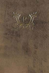 """Monogram """"r"""" Meeting Notebook"""