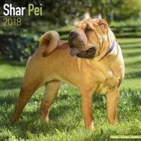 Shar Pei Calendar 2018
