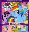 My little pony. Pysselbok och 2-i-1-pussel