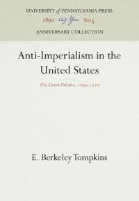 Anti-Imperialism in the United States