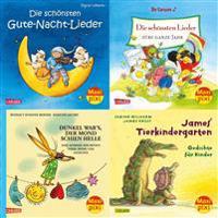 Maxi-Pixi-Serie Nr. 61: 4er Bundle: Bald nun ist WeihnachtszeitDie schönsten Reime und Lieder