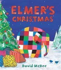 Elmers christmas - mini hardback