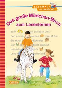 Das große Mädchen-Buch zum Lesenlernen
