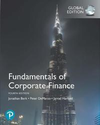 Fundamentals of Corporate Finance, Global Edition