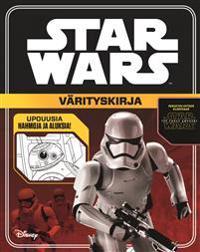 STAR WARS 7 VÄRITYSKIRJA