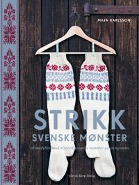 Strikk svenske mønster