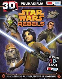 Star Wars Rebels Puuhakirja mukana 3D-lasit