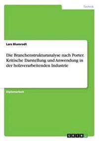 Die Branchenstrukturanalyse Nach Porter. Kritische Darstellung Und Anwendung in Der Holzverarbeitenden Industrie