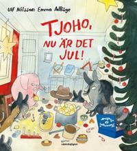 Tjoho, nu är det jul! Adventsbok 2017