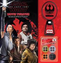Star Wars: The Last Jedi Movie Theater Storybook & Movie Projector(r)