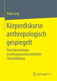 Korperdiskurse Anthropologisch Gespiegelt
