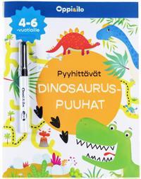 Pyyhittävät Dinosauruspuuhat -puuhakirja 4-6 v
