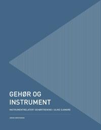 Gehør og instrument - Jorun Christensen | Ridgeroadrun.org