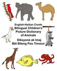 English-Haitian Creole Bilingual Children's Picture Dictionary of Animals