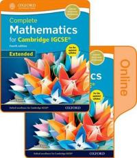 Complete Mathematics for Cambridge Igcserg Extended