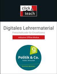 Politik & Co. NRW - neu click & teach 9 Box