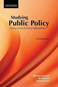 Studying Public Policy