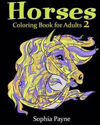Horses Coloring Book for Adults 2