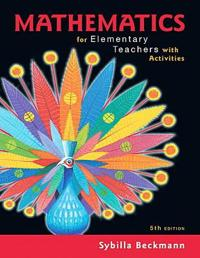 Mathematics for Elementary Teachers with Activities Plus Mymathlab -- Title-Specific Access Card Package