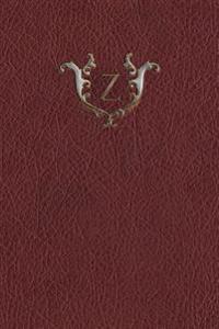 Monogram Z Meeting Notebook