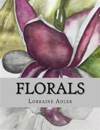Florals: A Grayscale Coloring Book