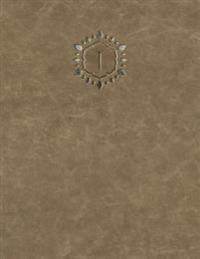 """Monogram """"j"""" Grid Sketchbook"""