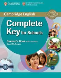 Complete Key for Schools Student's Book With Answers