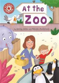 Reading champion: at the zoo - independent reading red 2