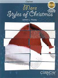 More Styles of Christmas: Intermediate Level Instrumental Play-Along Packs