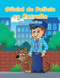 Oficial de Polic�a En Patrulla