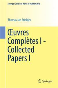 Xuvres Completes I - Collected Papers I
