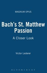 Bach's St. Matthew Passion