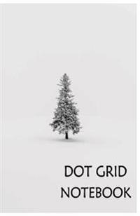 Dot Grid Notebook: Alone: 120 Dot Grid Pages, (5.5 X 8.5) Inches