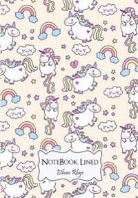Cutie Unicorn (Vol.1): Journal Notebook Lined: Notebook Journal Diary, 110 Lined Pages, 7 X 10