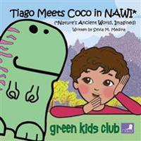 Tiago Meets Coco in Nawi*: (*Nature's Ancient World, Imagined) - 6.5 X 6.5