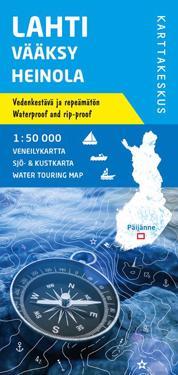 Lahti Vaaksy Heinola Veneilykartta 1 50 000 Kirjat Kartta