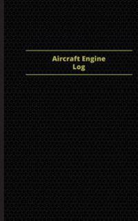 Aircraft Engine Log (Logbook, Journal - 96 Pages, 5 X 8 Inches): Aircraft Engine Logbook (Purple Cover, Small)