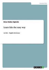 Learn EDO the Easy Way