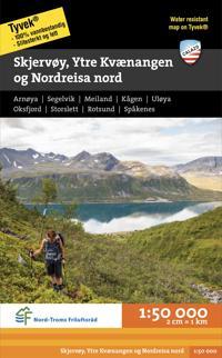 Skerjvöy, Ytre Kvaernangen og Nordreisa nord 1:50 000 -  pdf epub
