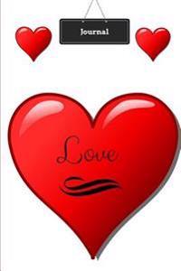 Journal: Love Heart Theme (Love Cover #1)