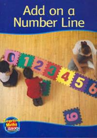 Add on a number line reader - add to ten